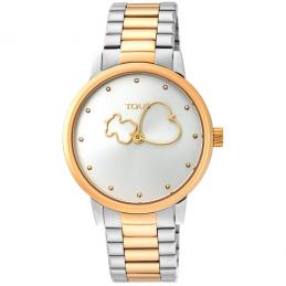 Reloj Bear Time bicolor de...