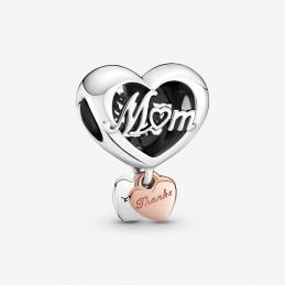 Abalorio Corazón Gracias Mamá