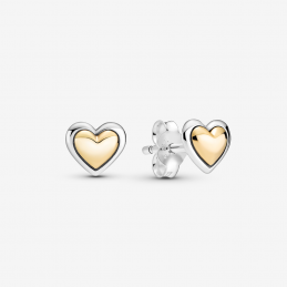 Pendientes de Botón Corazón...