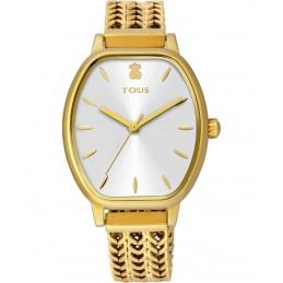 Reloj Osier de acero IP dorado
